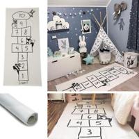 Skandinavischer Teppich Spielteppich Hickelkasten Matte Kinderteppich für Spaß