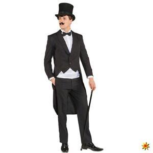 Herren Frack Standard Gr. 48-60 Kostüm 20er Jahre Kleinkunst Revue Theater