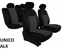 AUDI A4 B7 2004-2008 ECO LEATHER & ALCANTRA SEAT COVERS MADE TO MEASURE FOR CAR