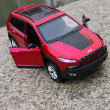 Jeep Cherokee 2014 Alloy Diecast 1:32 SUV Model Cars Toys Sound & Light Fuchsia