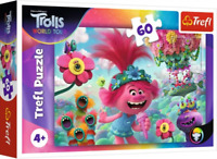 Trefl 60 Piece Jigsaw Puzzle Trolls In The World Of Music