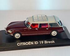"Citroen ID 19 ""Break"", NOREV 1:43"