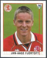 MERLIN 1996-PREMIER LEAGUE 96 - #496-MIDDLESBROUGH & NORWAY-JAN AAGE FJORTOFT