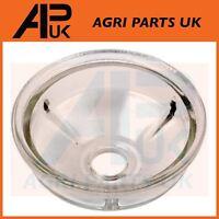 Lucas CAV Delphi HDF 296 Fuel Filter Glass Bowl Shallow Perkins A4.212,A4.236