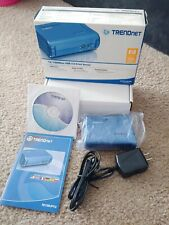TrendNet Te100-P1U 10/100 Mbps Usb 2.0 Print Server New Open Box