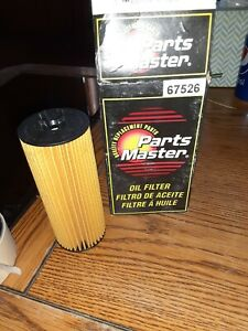 67526 PARTS MASTER OIL FILTER FITS CHRYSLER DODGE JEEP RAM VOLKSWAGON CHECK YEAR