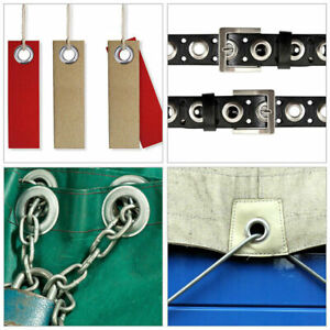 Grommets Durable Clothing Metal Eyelets Button Set Installation Tool Kits Useful