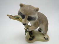 Cybis Raffles The Racoon Figure 7in hand painted porcelain