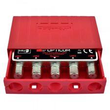 Opticum profesional DiSEqC interruptor 4/1 4x1 SAT distribuidor con intemperie