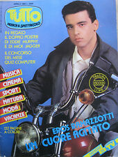 TUTTO 4 1985 Ramazzotti Phil Collins Vannelli Tears For Fears U2 Taffy Foreigner