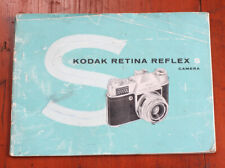 Kodak Retina Reflex S Instruction Book/200471