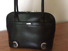 Timeless Classic Black Leather Oroton Handbag