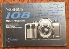 Yashica 108 Multi Program -Anleitung
