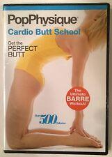 "Pop Physique ""Cardio Butt School"" DVD Brand New Sealed - LA's Hottest Workout!"