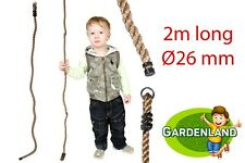 Kids climbing rope for climbing frames 2m Ø26mm climbing rope