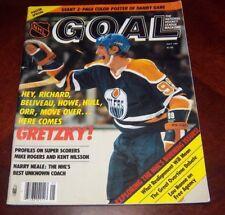 Goal Magazine May 1981  Wayne Gretzky