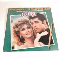 GREASE FILM SOUNDTRACK VINYL DOUBLE GATEFOLD ALBUM LP 33rpm ORIGINAL 1978 *2