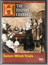 History Channel Salem Witch Trials (1998 Documentary)  USED DVD