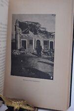 TERREMOTO - Malagodi: CALABRIA DESOLATA 1905 con Illustrazioni Rovine Edifici
