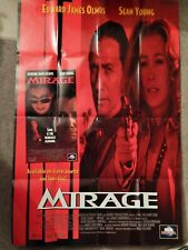 MIRAGE (VIDEO DEALER 40 X 27 POSTER 1990S) SEAN YOUNG, EDWARD JAMES OLMOS