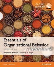 NEW 3 Days to AUS Essentials of Organizational Behavior 13th Edition Robbins 13E