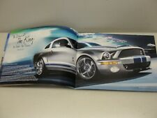 ORIGINAL 2009 FORD MUSTANG V6 GT SHELBY GT500 KR SALES BROCHURE