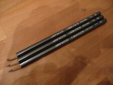 """3 Caran D'Ache Bleistifte/Farbstifte: """"Grafwood"""", in dunkelbraun"""
