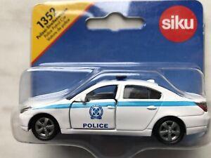 SIKU 1352 BMW 545i GREEK GREECE EDITION POLICE CAR MINT BOXED NEU OVP