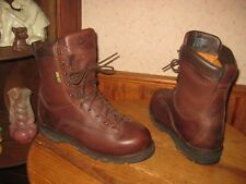 """Danner   FRONTIER  8""""    Leather    Insulated    GTX    Boots     Mens  8.5  D"""