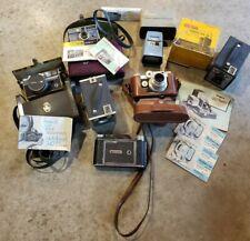 Lot Of Vintage Cameras Ansco Argus Kodak Tower Adams Howell - Slide Viewer