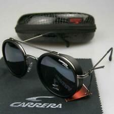 LANON New Herren Sonnenbrille Auto HD Polarisierte Runder Vintage Fahren Brillen