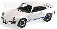 Porsche 911 carrera RSR 2.7 1972 blanco & azul Minichamps 107065020