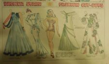 Brenda Starr Sunday with Large Uncut Paper Dolls from 5/3/1942 Full Size Page
