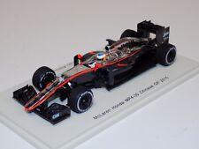 1/43 Spark McLaren Honda MP4-30 car #14  2014 Chinese GP Fernando Alonso S4615