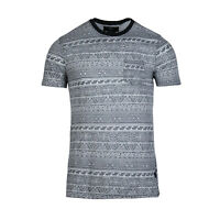 Beautiful Giant Men's Short Sleeve Crew Neck Vacation Pocket T-shirt Grey
