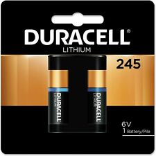 Duracell 245 Ultra Photo Camera Battery 6 Volt Lithium - New worn packaging