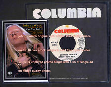 Johnny Winter Still Alive & Well cant you feel it single display