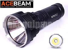 ACEBeam K70 Cree XHP35 HI LED Flashlight+ACE-4 Charger+IMR18650 Battery