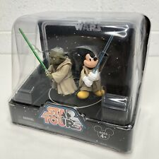 Jedi Yoda and Mickey Mouse STAR WARS Star Tours Resort Only figure set 2005