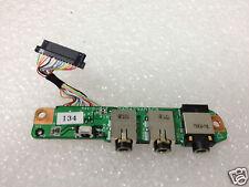 HP DV9000 Audio I/O Port Board w/ Cable DA0AT9AB8C9