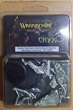 Warmachine - Cryx - Master Necrotech Mortenebra & Deryliss & Skarlock PIP 34055