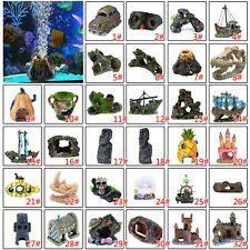 Pet Ting Fish Tank Ornament Aquarium Decoration Fish Tank Landscaping Decor Lots