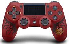 Wireless controller DUALSHOCK 4 MONSTER HUNTER WORLD LIOLAEUS EDITION PS4  Red