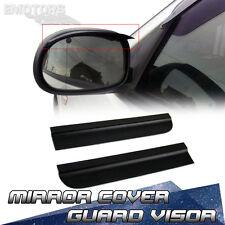 Universal Car All Vehicle Side Mirror Sun Rain Shade Visor Flexible Unpainted
