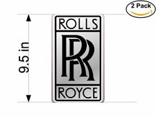 Rolls Royce 2 Stickers 9.5 inches Sticker Decal