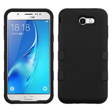 Samsung GALAXY J7 2017 IMPACT TUFF HYBRID Rugged Rubber Protective Case Cover