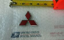 MITSUBISHI ECLIPSE GALANT LANCER REAR LID RED EMBLEM LOGO BADGE SIGN SYMBOL