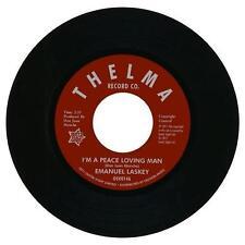 "EMANUEL LASKEY I'm A Peace Loving Man NORTHERN SOUL 45 (OUTTA SIGHT) 7"" VINYL"