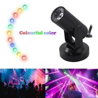 LED Stage Lighting Spin Effect Pinspot Party Show Light Beam Spotlight DJ DISCO