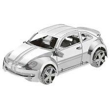 3d Métal Sport Voiture Véhicule VW Beetle Miniature Modèle Puzzle